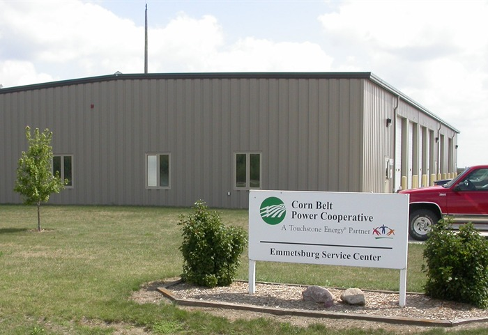 Corn Belt Power Cooperative Emmetsburg Service Center, Emmetsburg, Iowa