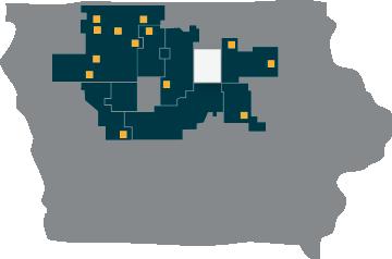 Franklin REC map