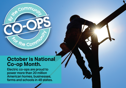 National Co-op Month logo