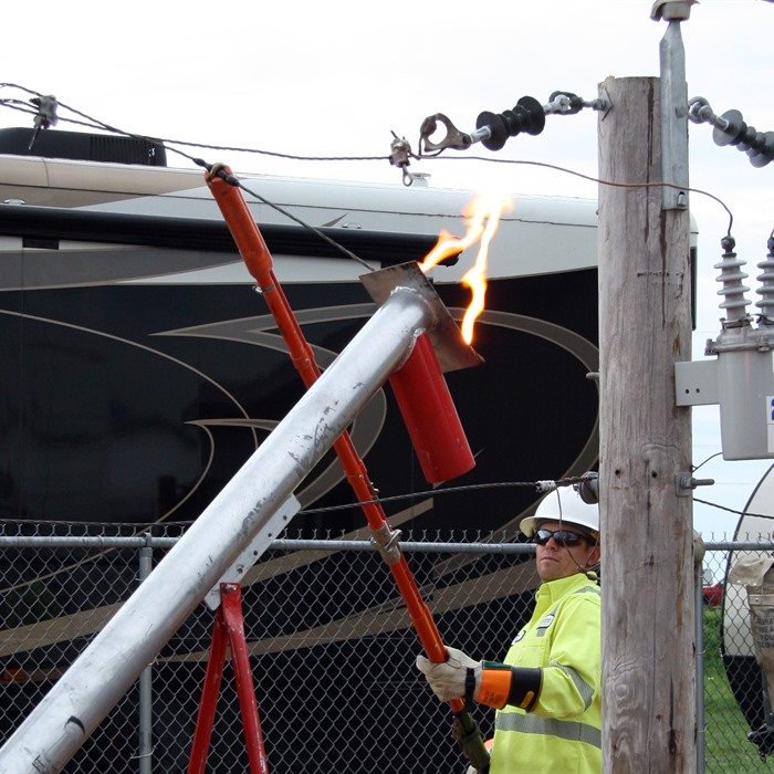 lineman and high voltage demo