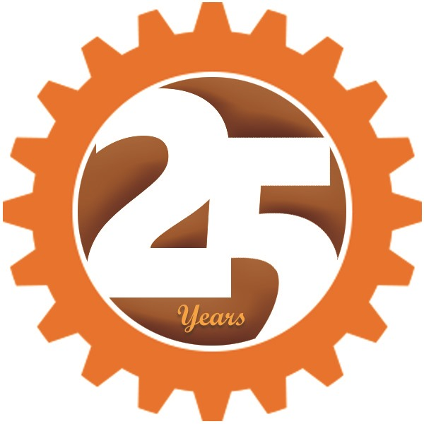 Momentum Is Building 25th year logo